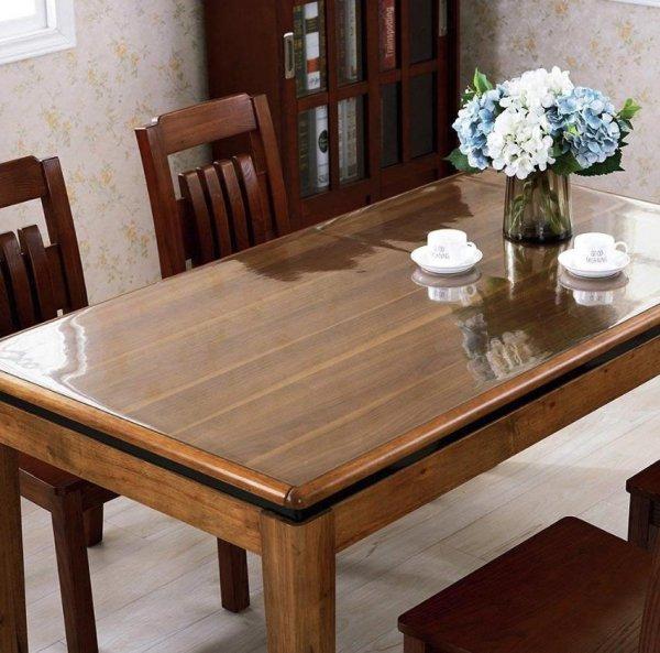 Elastyczna podkładka mata obrus cerata na stół biurko komodę meble jadalnia kuchnia twój wymiar do 120x80