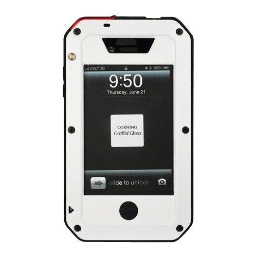 Obudowa biała pancerna GORILLA GLASS iphone 6+ 6s+