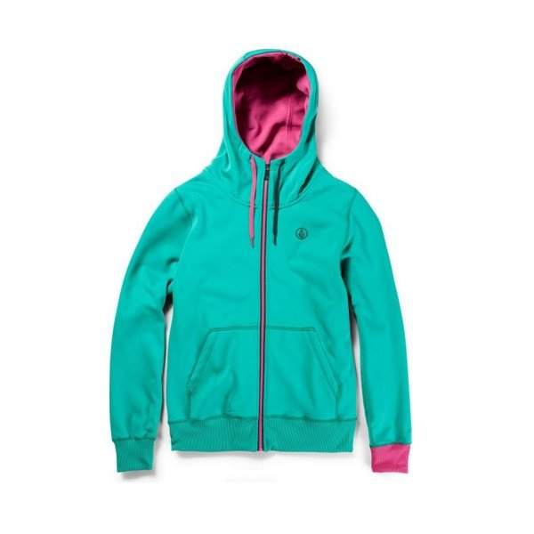 Bluza Volcom Draw Fleece (Island green) 2015