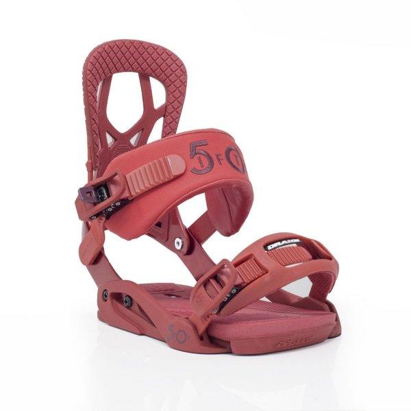 Wiązania snowboardowe Drake Fifty (bloody red) 2020