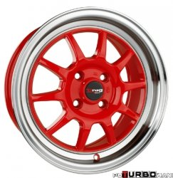 Drag Wheels DR16 Red 15x8,25 4x100 ET25