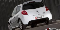 AKRAPOVIC Slip-On Line (SS) Renault Clio III RS 200 2009-2012