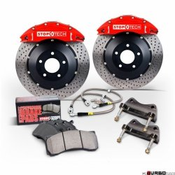 Stoptech Performance Big Brake Kit BBK 2PC ROTOR, FRONT AUD A4 3.0L B6 355x32ST40