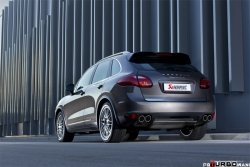 AKRAPOVIC Link pipe Turbo (Titanium) Porsche Cayenne Turbo (958) 2010-2013