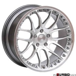 Breyton RACE GTP 8,5x20 5x120 Hyper Silver with diamond polished lip