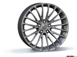 Breyton RACE LS 10,0x20 5x120 Matt Gun Metal/ Matt Black