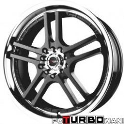 Drag Wheels DR12 7,5x18 5x100-114,3 ET45 otw. 73