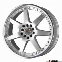 Drag Wheels DR10 Silver 17x7 5x100/114,3 ET40