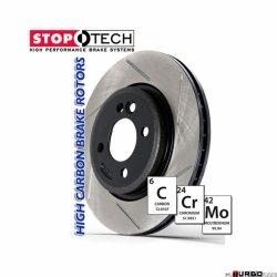 StopTech 126 Hi-Carbon Slotted tarcza hamulcowa BMW 126.34054SR