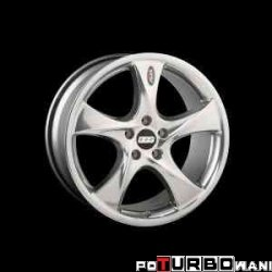 BBS AI SUV-Line 10x20 5x112 ET52 Polished / Brilliant Silver