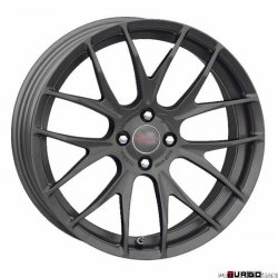Breyton RACE GTS-R MINI 7x17 4x100 Matt Gun Metal / Matt Black