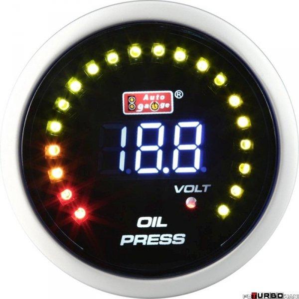 Auto Gauge LCD - ciśnienie oleju