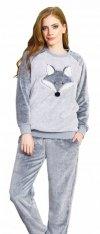 Vienetta WILCZEK bardzo gruba piżama damska