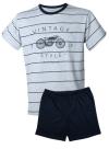 MUZZY Bawełniana Piżama MĘSKA Vintage