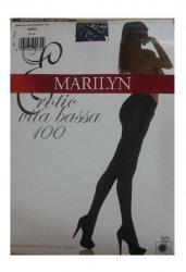 Rajstopy  MARILYN  EROTIC VITA BASSA 100 NERO