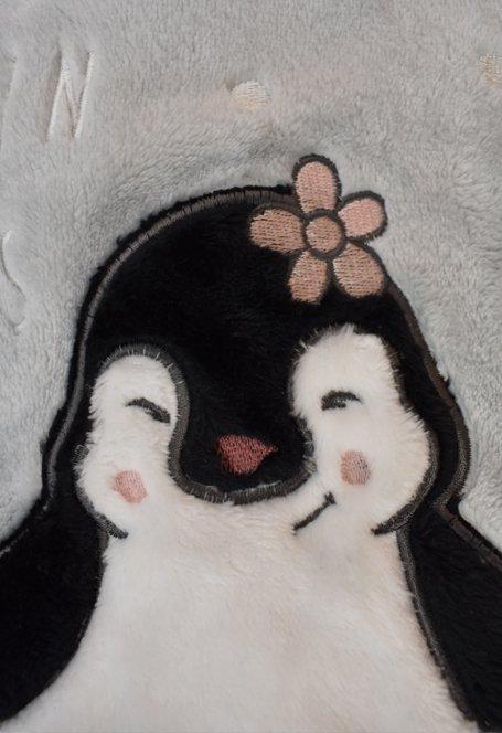 VIENETTA ! Piżama Polarowa - Zakochane Pingwiny