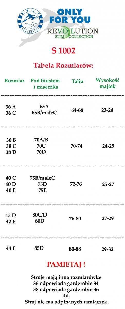 Kostium kąpielowy SELF S1002M v.19  R: