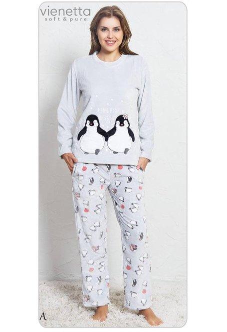 6d0d8f74d350ca VIENETTA ! Piżama Polarowa - Zakochane Pingwiny - Piżamy - Bielizna ...