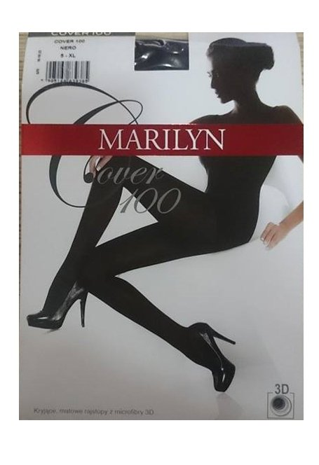 Rajstopy  MARILYN  COVER 100 NERO