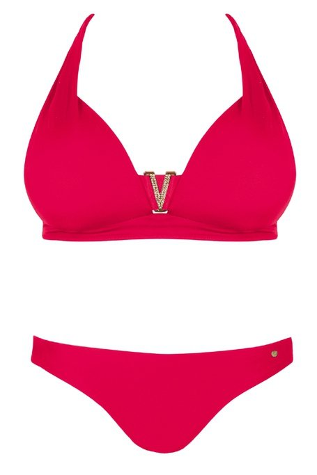 SELF Kostium kąpielowy S1023  Czerwień R: