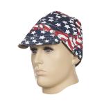 WELDAS-czapka spawalnicza USA FLAG 23-6507 (61 cm)