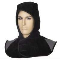 WELDAS- Czarny kaptur z dwoiny bydlęcej Arc Knight® 23-6630