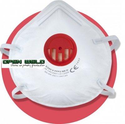 Półmaska przeciwpyłowa, filtrująca X 200 V FFP2 NR D