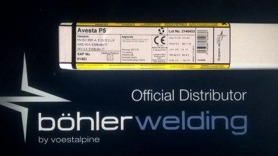 AVESTA- Elektroda spawalnicza AVESTA P5 (309 MoL) 3,2x350 mm (4,2 kg)