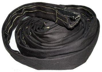 Osłona na wiązkę przewodów OPEN WELD ANTI-FIRE, zapinana na rzep. (średnica 35 mm)
