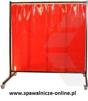 PARAWAN SPAWALNICZY REGULAR Z KURTYNAMI LAMELOWYMI - 2150x1900 mm (szer x wys)