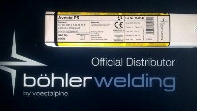 AVESTA- Elektroda spawalnicza AVESTA P5 (309 MoL) 2,5x300 mm (3,5 kg)