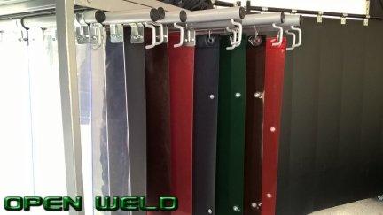 Kurtyny spawalnicze - kolory i typy