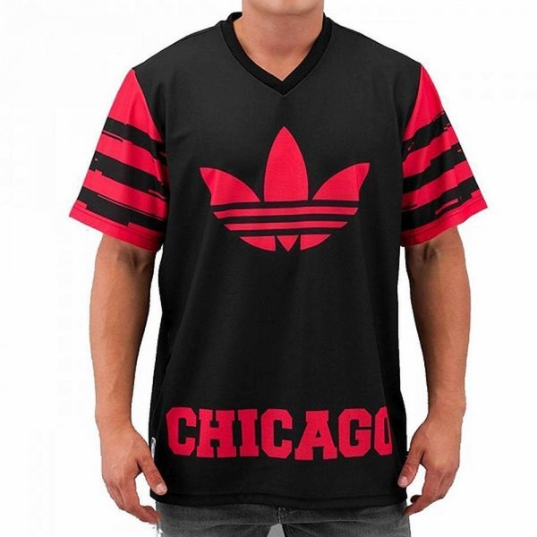 ADIDAS ORIGINALS T-SHIRT CHICAGO BULLS O T SHIRT S08234