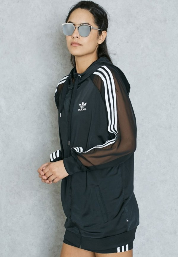 ADIDAS ORIGINALS BLUZA DAMSKA 3S HOODED ZIP BJ8183