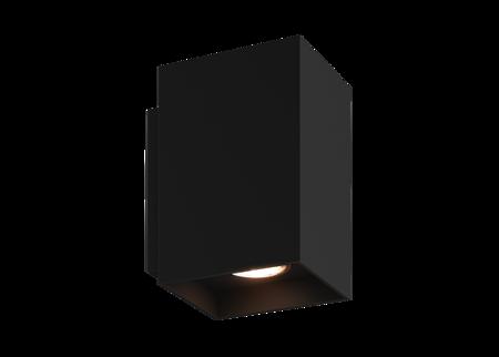 LAMPA KINKIET ZUMA LINE SANDY WL SQUARE WALL 92698 BLACK