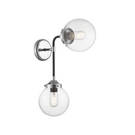 LAMPA WEWNĘTRZNA (KINKIET) ZUMA LINE RIANO WALL LAMP W0454-02D-STAC  --- DODAJ PRODUKT DO KOSZYKA I UZYSKAJ MEGA RABAT ----