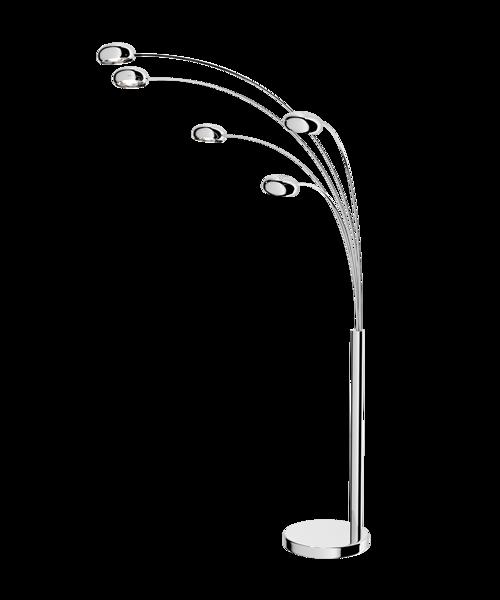Lampa stojąca ZODIAC CHROM TS-5805CH Zuma Line