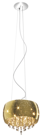 LAMPA WISZĄCA ZUMA LINE VISTA PENDANT P0076-05K-F4GQgold