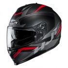 HJC C70 KASK MOTOCYKLOWY TROKY BLACK/RED
