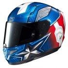 HJC R-PHA-11 KASK MOTOCYKLOWY CAPTAIN AMERICA BLUE/RED