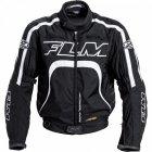 FLM Kurtka tekstylna sportowa T16 Evo z membraną SympaTex - czarno-biała