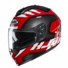 KASK HJC C70 KORO BLACK/RED/WHITE L