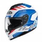 KASK HJC C70 KORO WHITE/BLUE/RED XL