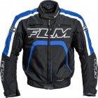FLM Kurtka tekstylna sportowa T16 Evo z membraną SympaTex - czarno-niebieska