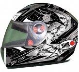 SHIRO SH-3700 MONZA kask motocyklowy czarny