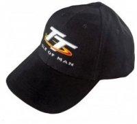 TT Isle of Man czapka z daszkiem czarna bawełniana regulowana oryginalna