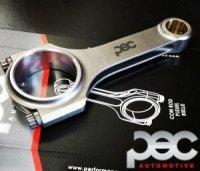 PEC Zestaw korbowodów ze śrubami ARP do Citroen & Peugeot 2.0 16v XU10J4RS H-Beam (20mm Pin)