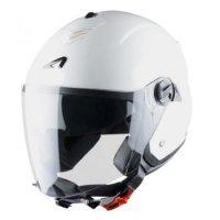 Astone Mini Jet kask motocyklowy biały połysk