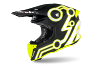 KASK AIROH TWIST 2.0 NEON YELLOW MATT