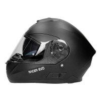 RHINO KASK MOTOCYKLOWY RACER EVO BLACK MATT CZARNY MATT